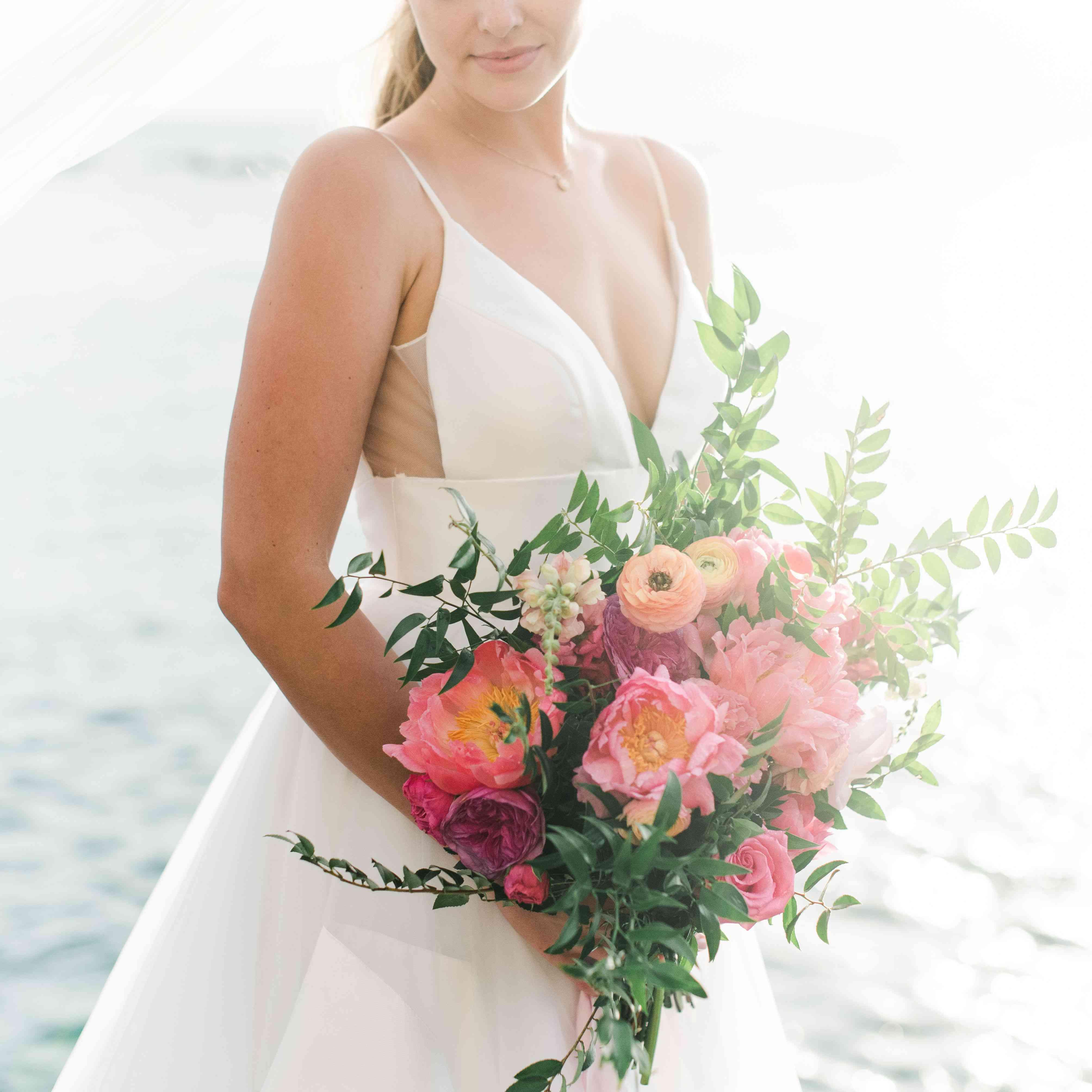 Bride with ombré eyeshadow