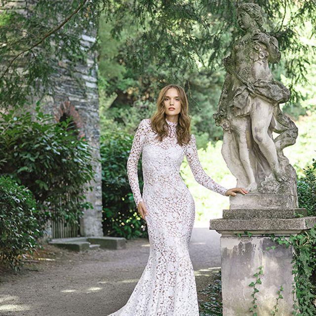 Monique Lhuillier Atherton Wedding Gown, price upon request