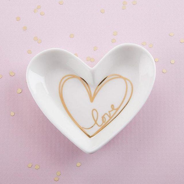 Heart Shaped Trinket Dish
