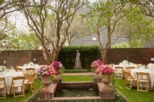 Brides Houston The Best Garden Wedding Venues