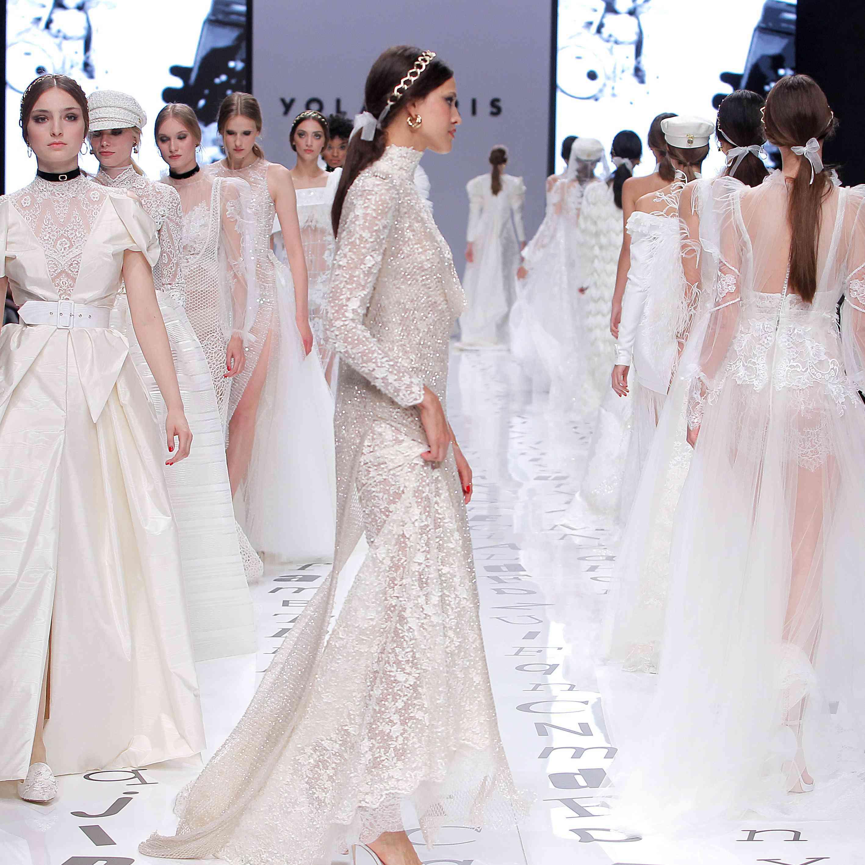 Bridal Fashion Week 2020.Yolancris Bridal Spring 2020