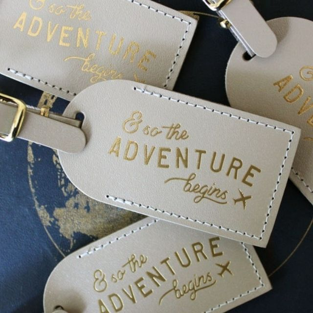 LetterAndLeather Luggage Tags
