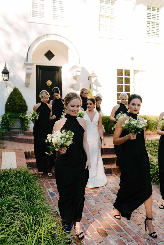 augusta wedding, bridesmaids