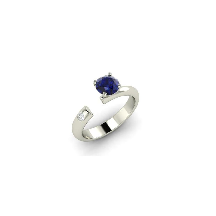 e427ca27208b7 78 Stunning Sapphire Engagement Rings for Every Bridal Taste