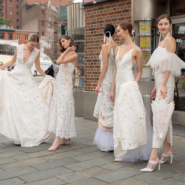 Fall 2019 wedding dress trends