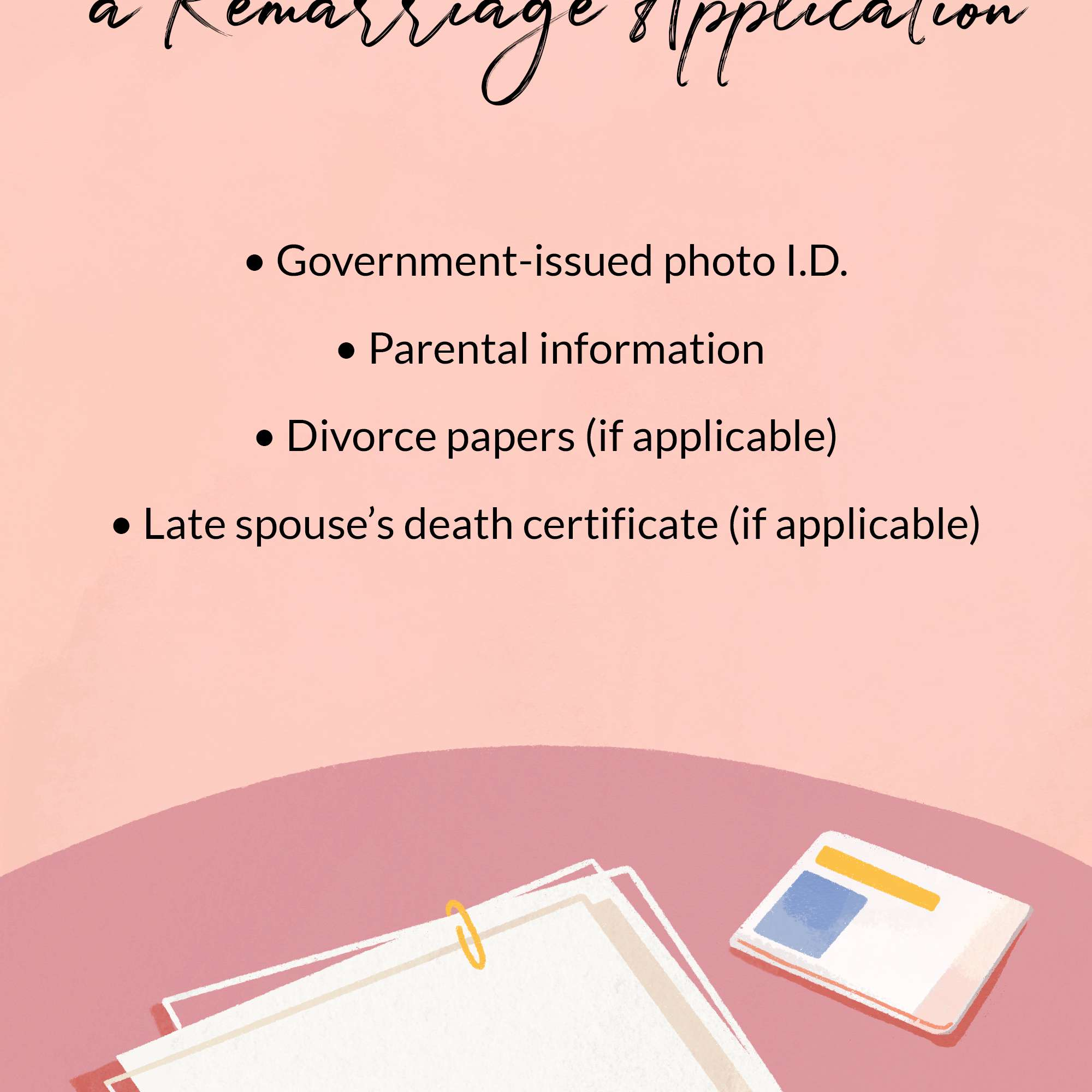 remarriage application