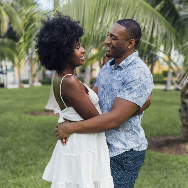 couple in miami