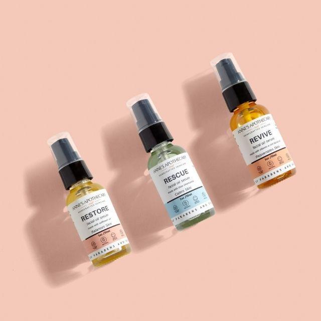 Facial Oil Serum Set