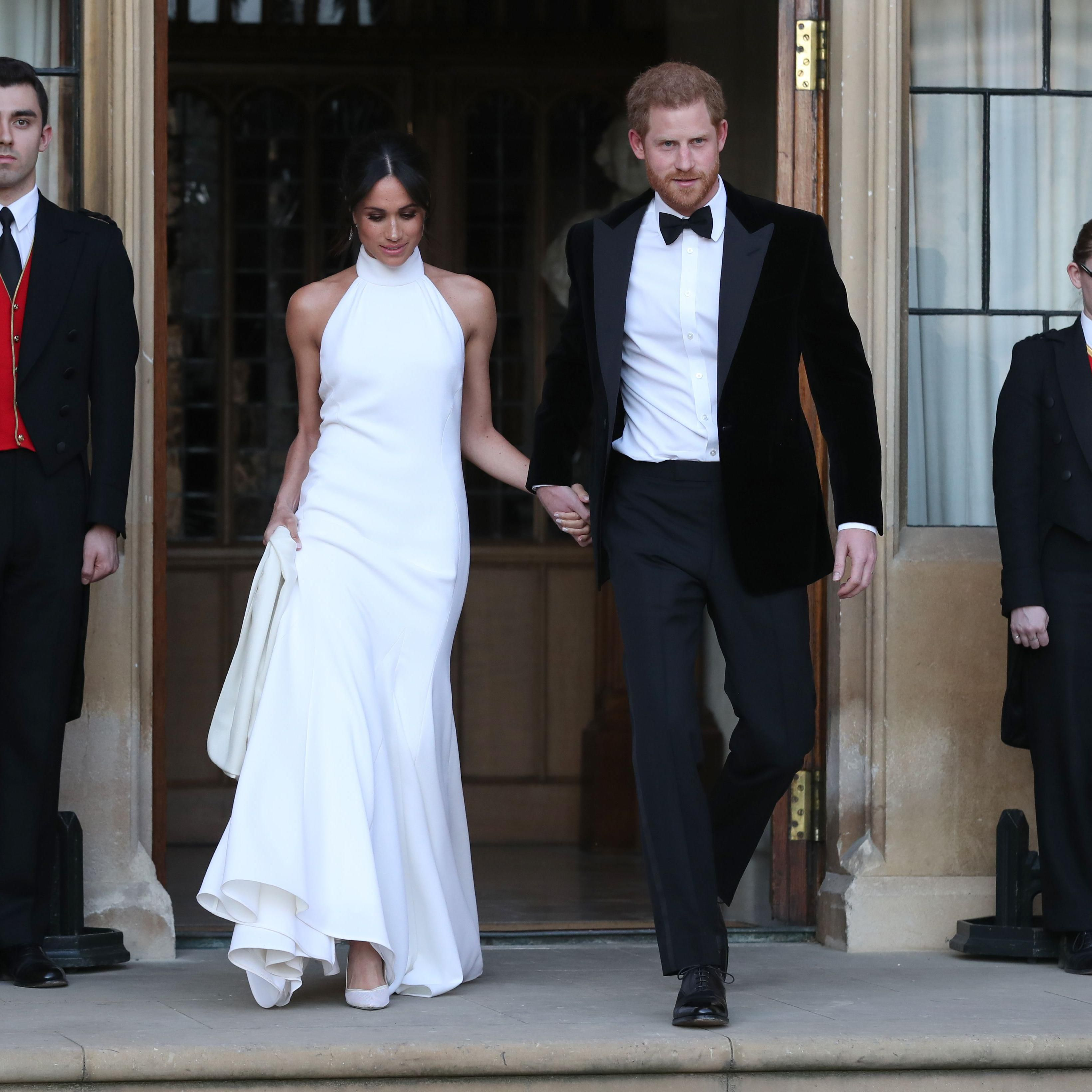 meghan markle s second royal wedding dress get the look second royal wedding dress