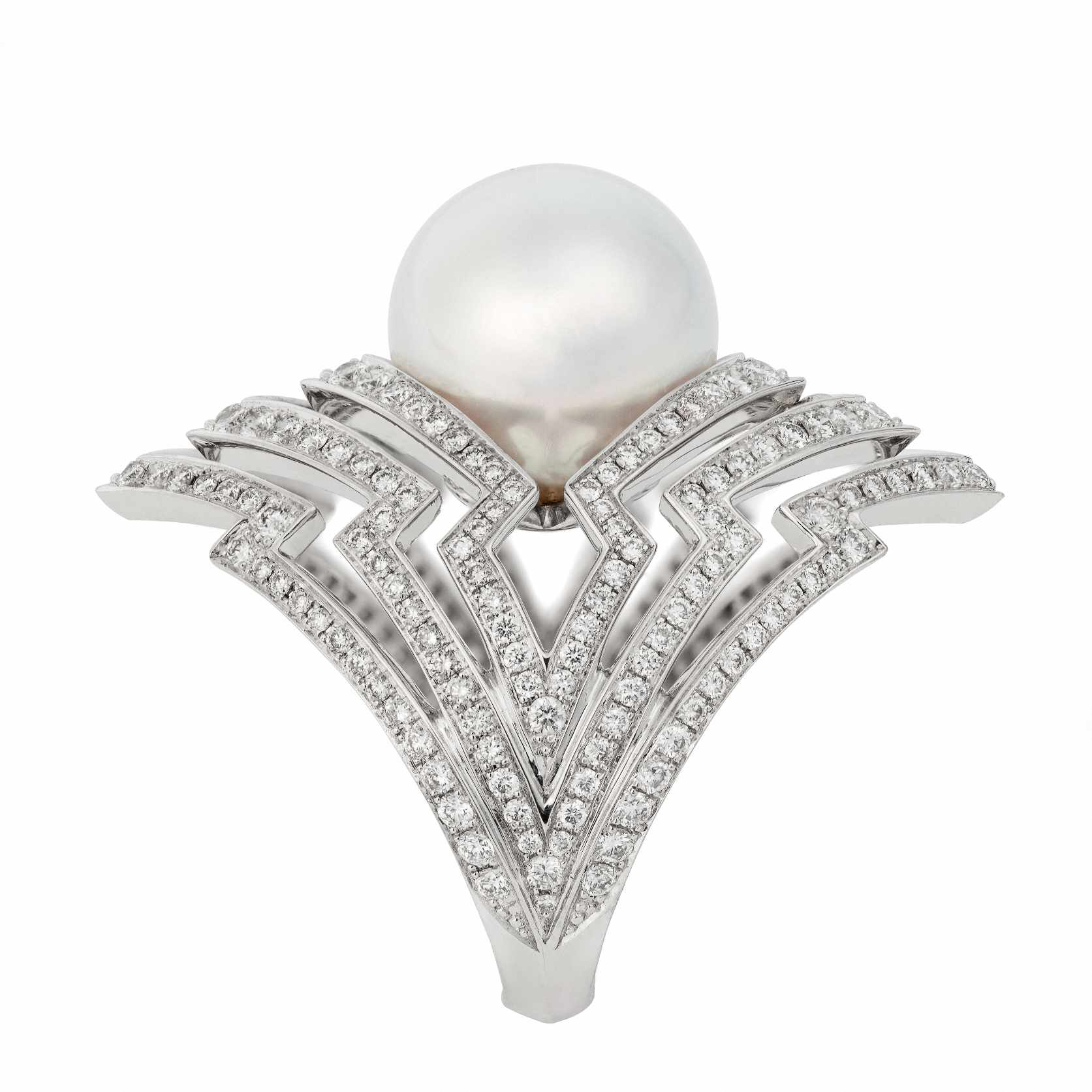 44ce75e7cd1aa 52 Polished Pearl Engagement Rings For the Timeless Bride