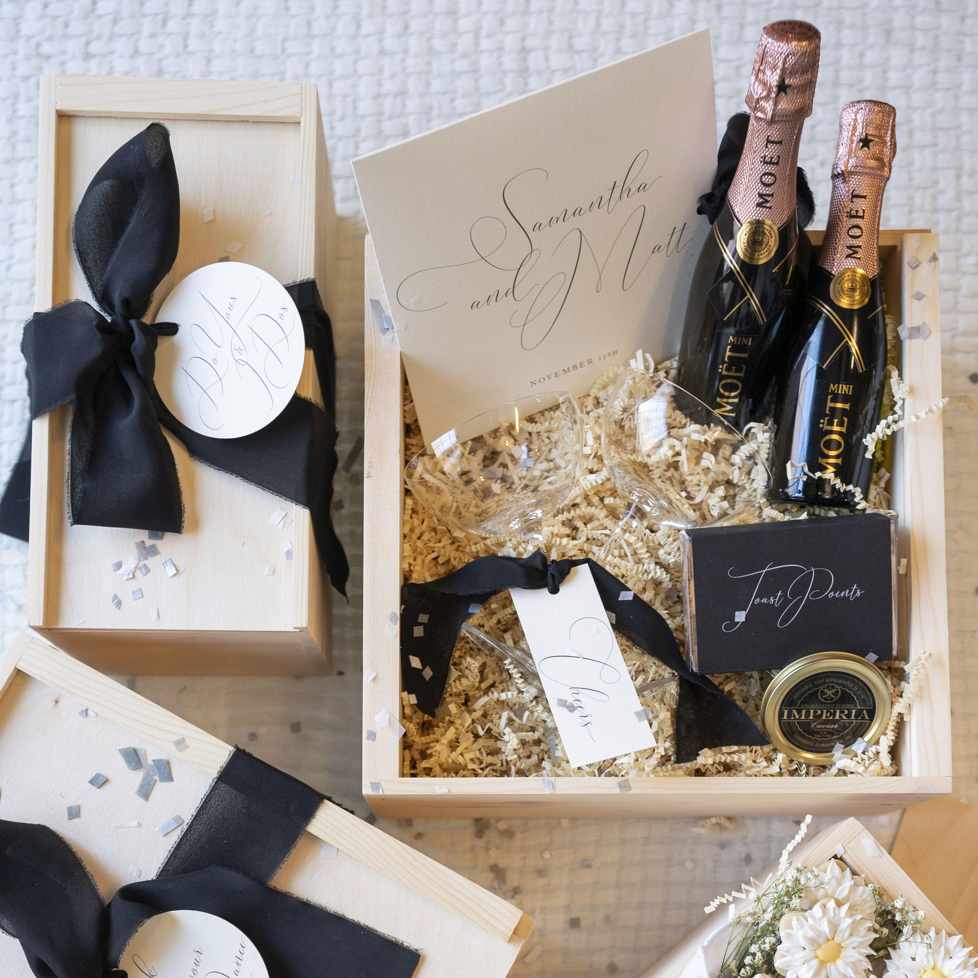 Celebration Boxes Our Favorite Virtual Wedding Trend