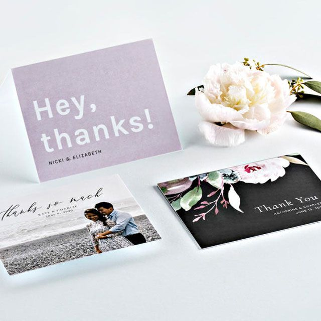Wedding Thank You Notes. Couples Shower Thank You Cards Personalized Wedding Thank You Cards Custom Wedding Thank You Cards