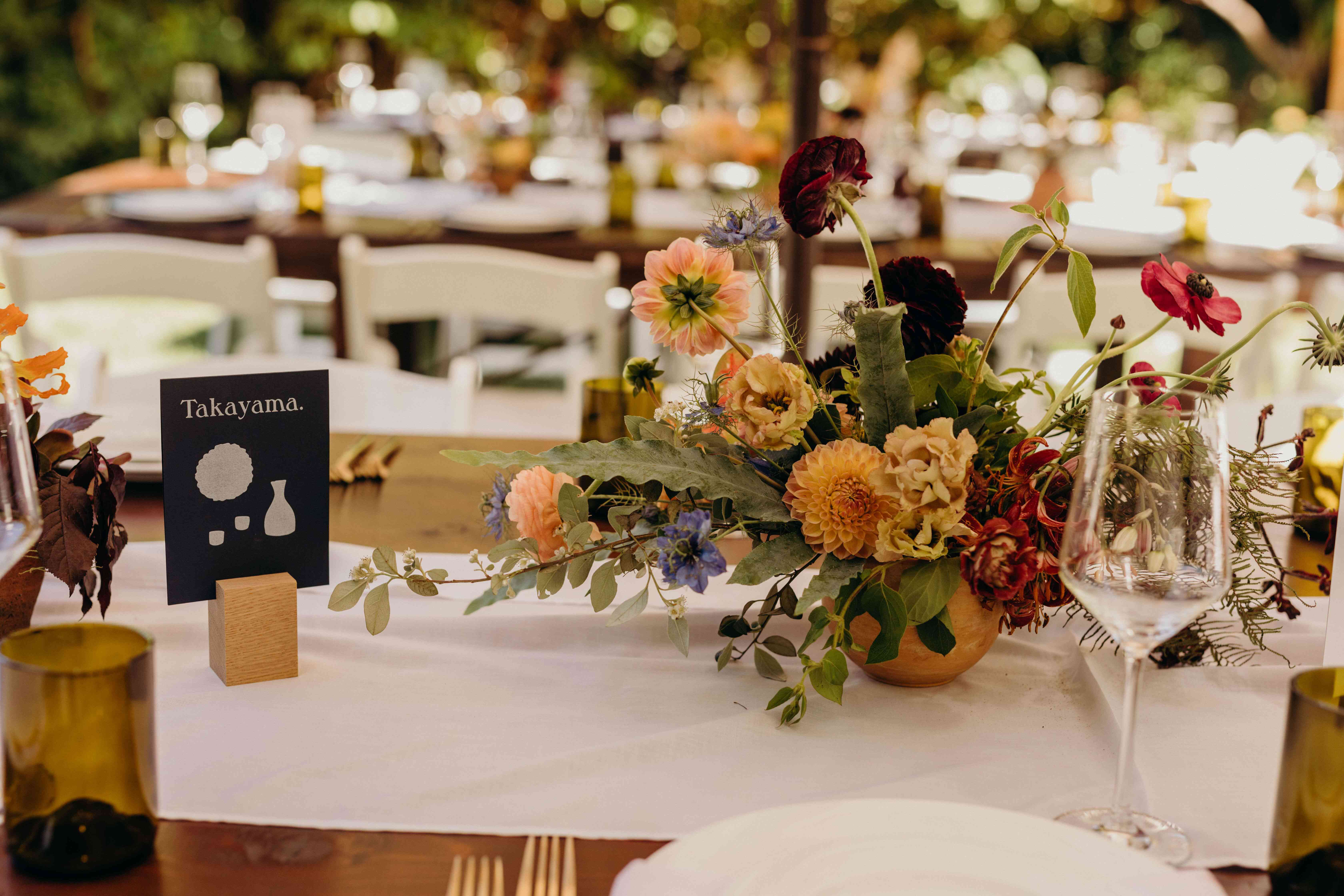 Wedding Table Numbers 35 Inspirational Designs