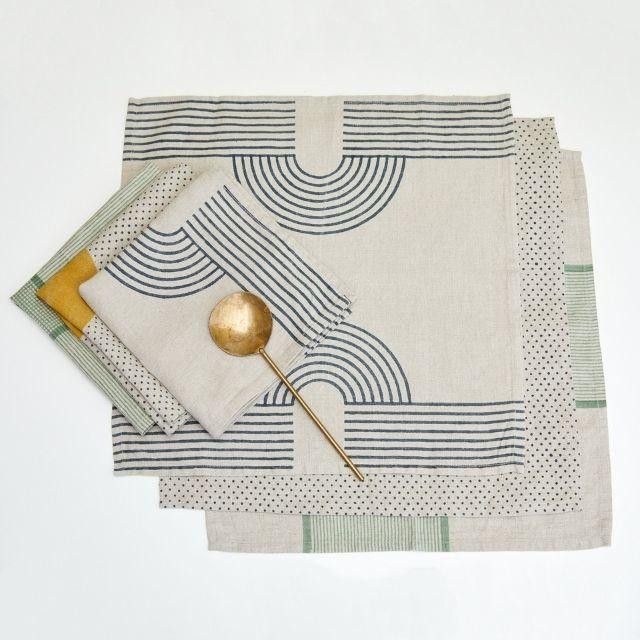 Block Shop Textiles Hans Napkin