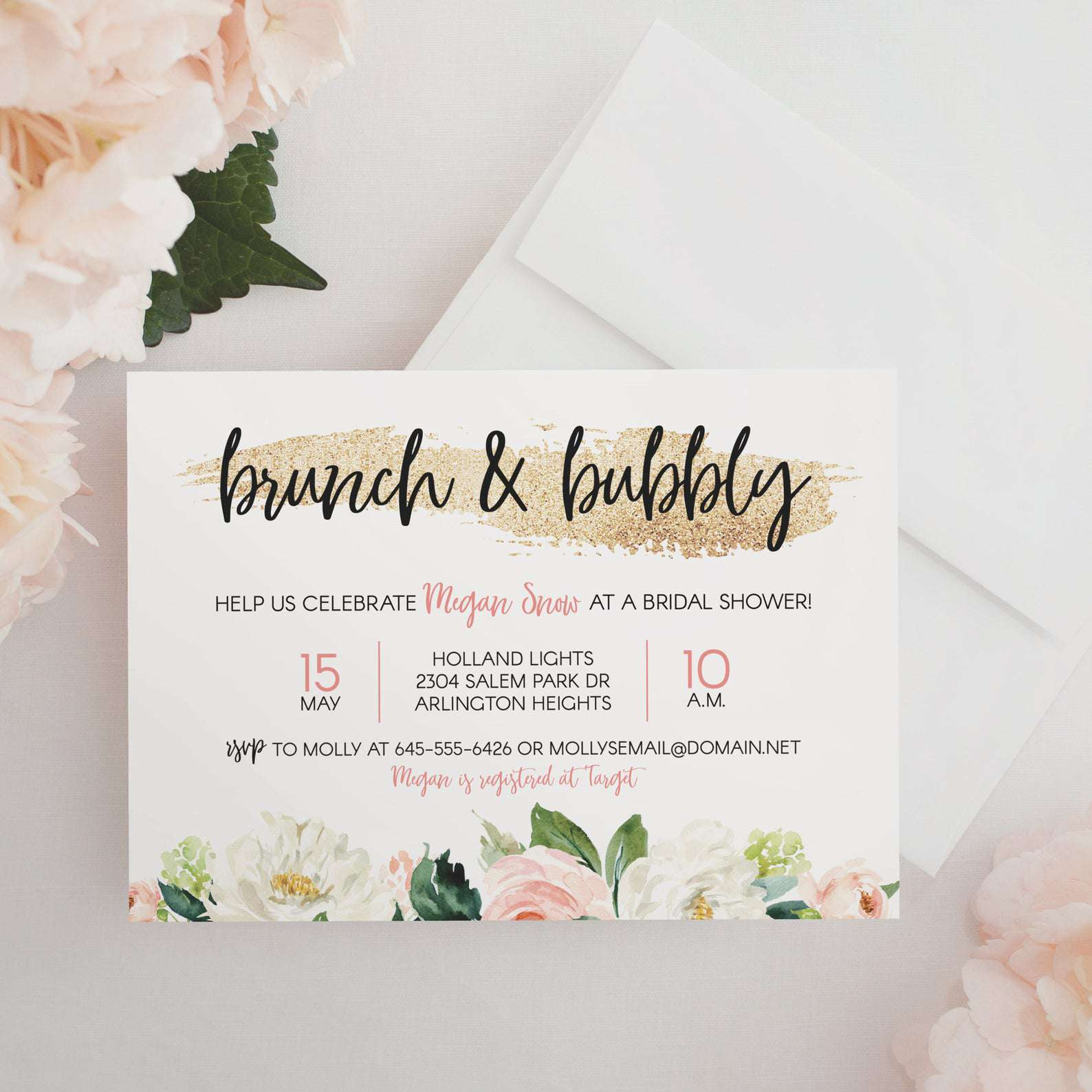 Bridal Shower Invitation Wording 101: Everything To
