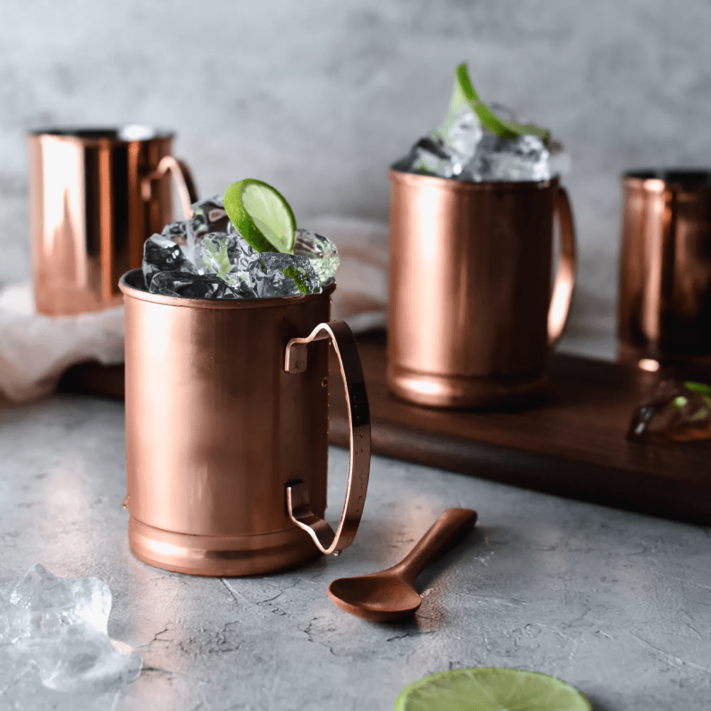Libbey 14 oz. Copper Moscow Mule Mug (Set of 4)