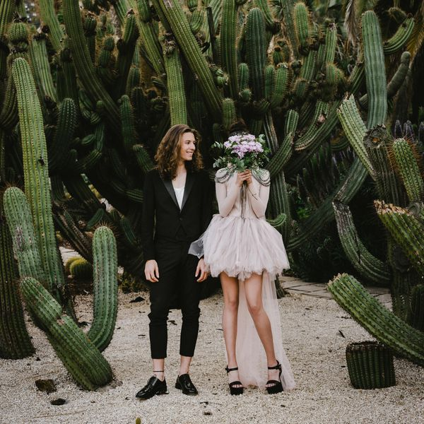 <p>Couple with Cactus Plants</p>