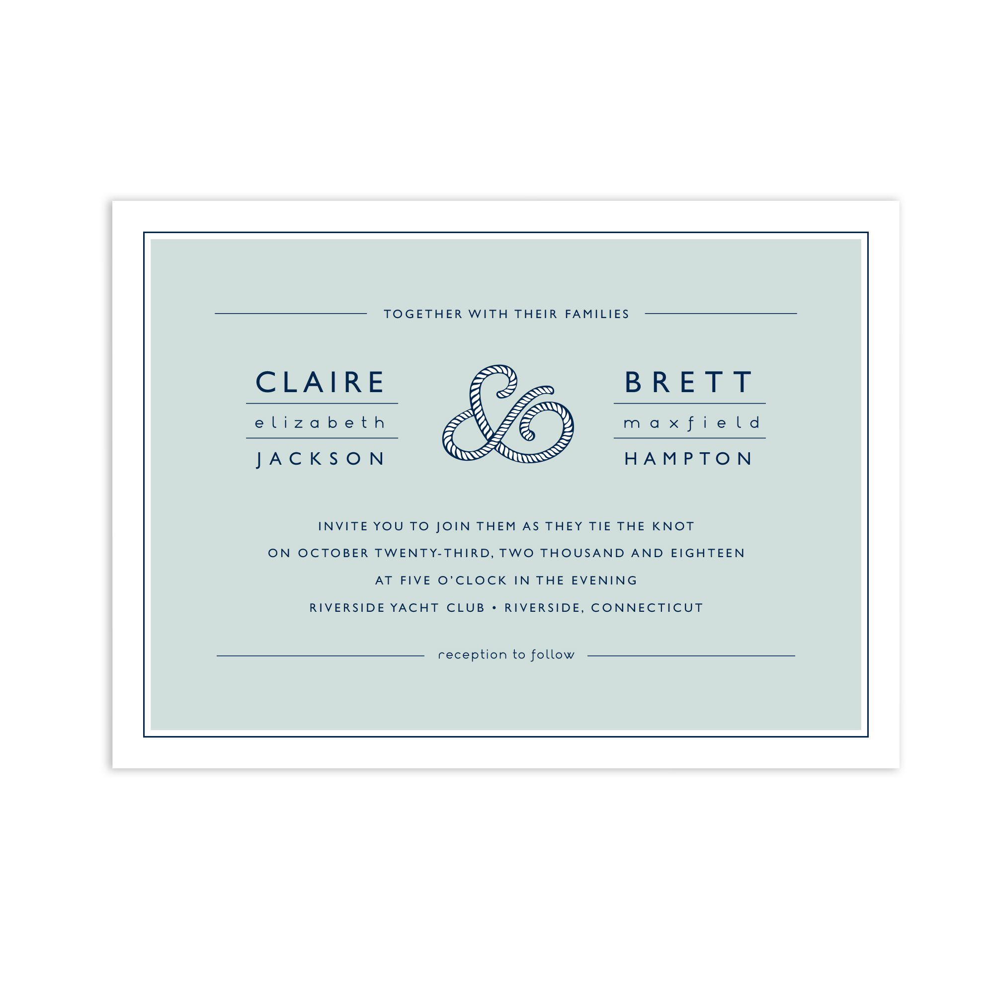 13 Nautical Wedding Invitations That Are Perfect for Your