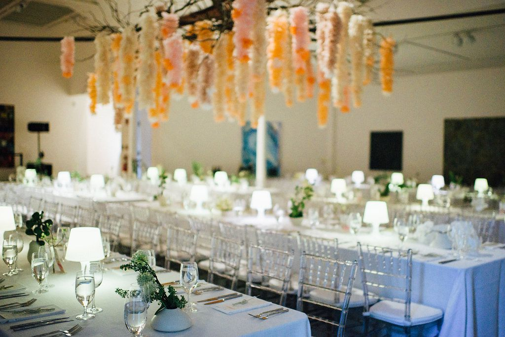 Table Settings at Reception