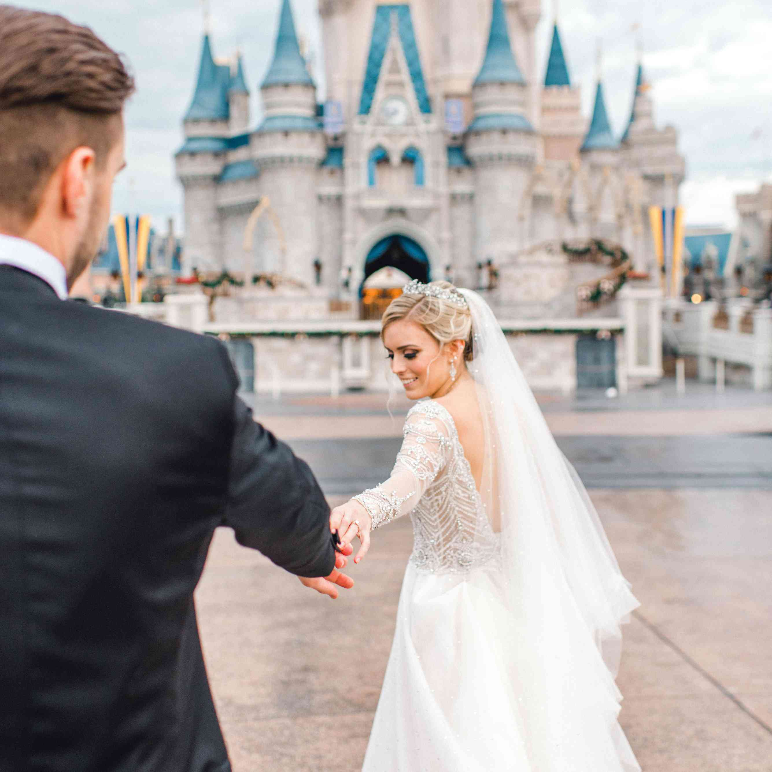 Disney Wedding Dress.Everything You Need To Know About Having A Brides Approved Disney