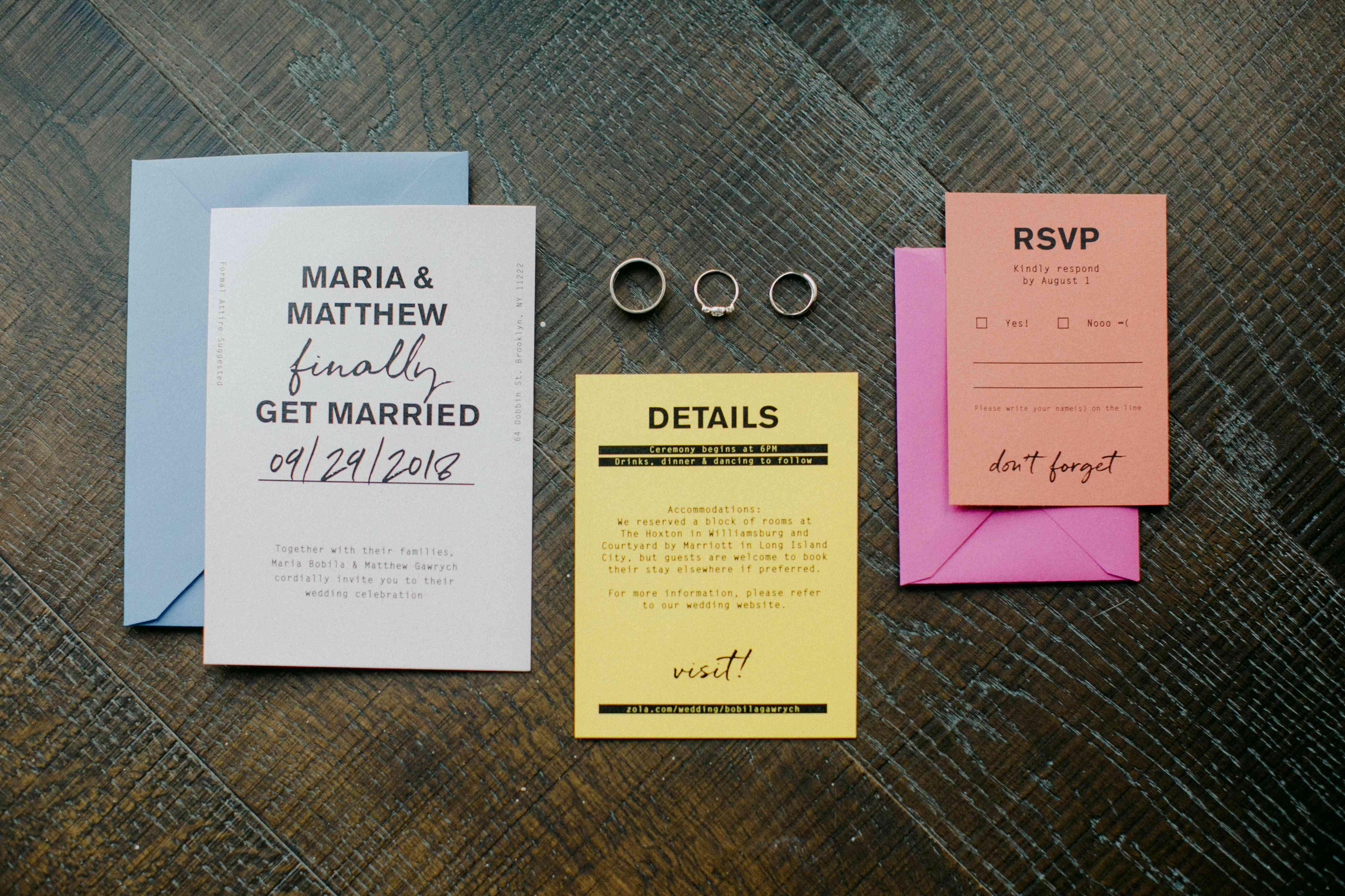 <p>colorful invitation suite</p><br><br>