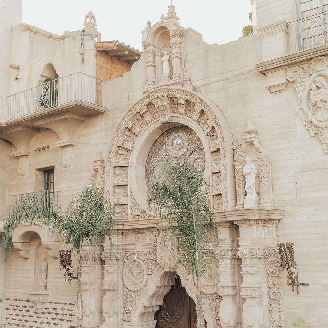 old wedding venue