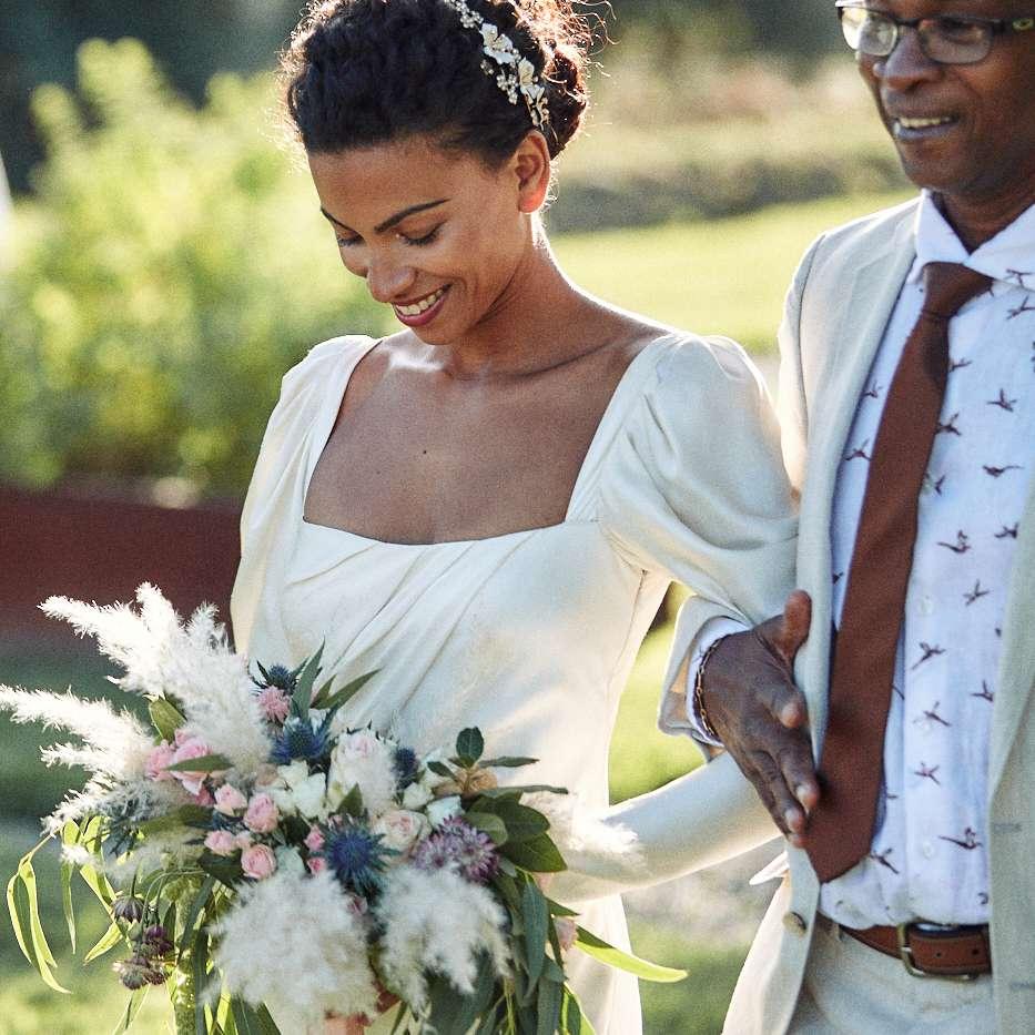 <p>bride with dad</p><br><br>