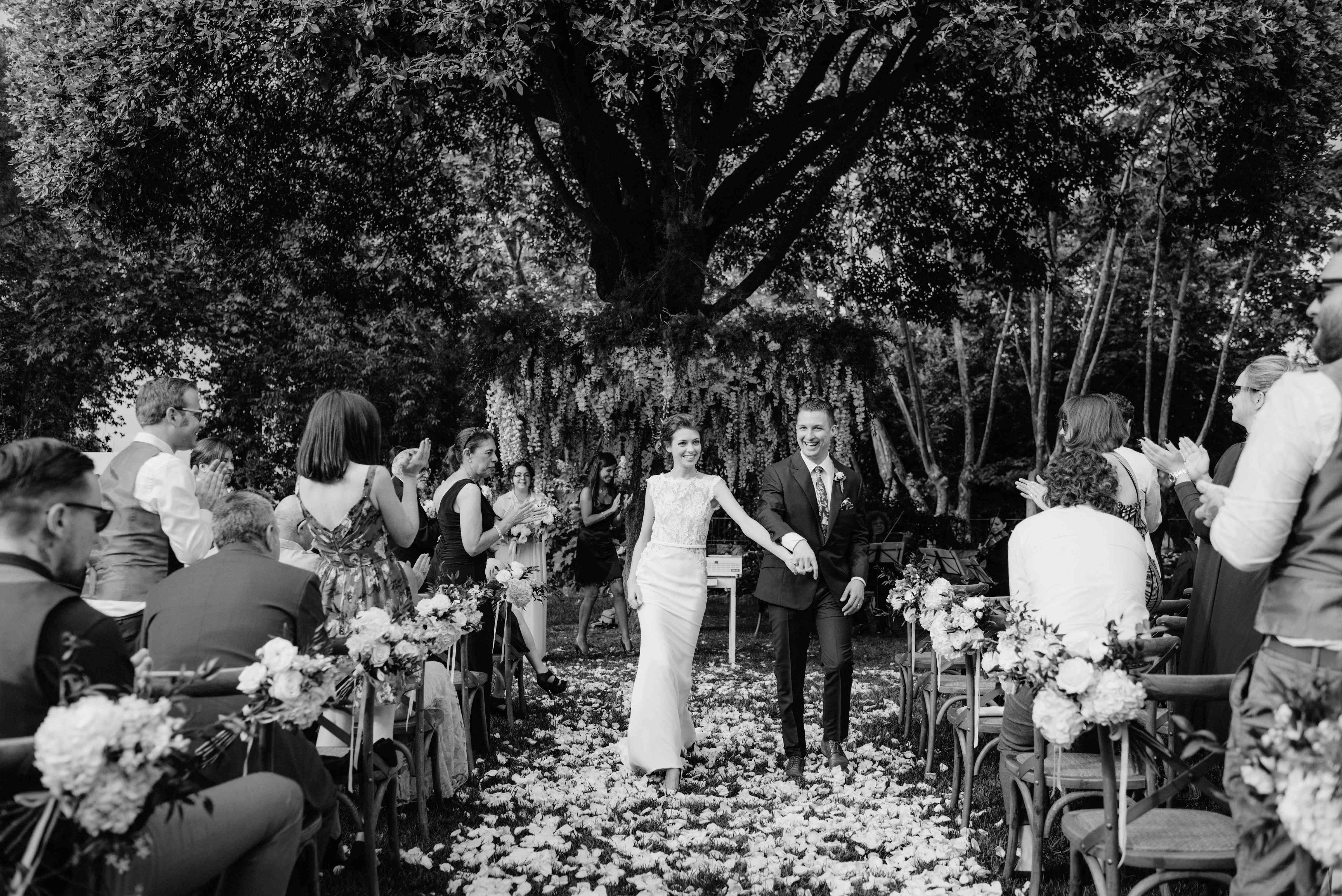 Bride and Groom Exit Ceremony