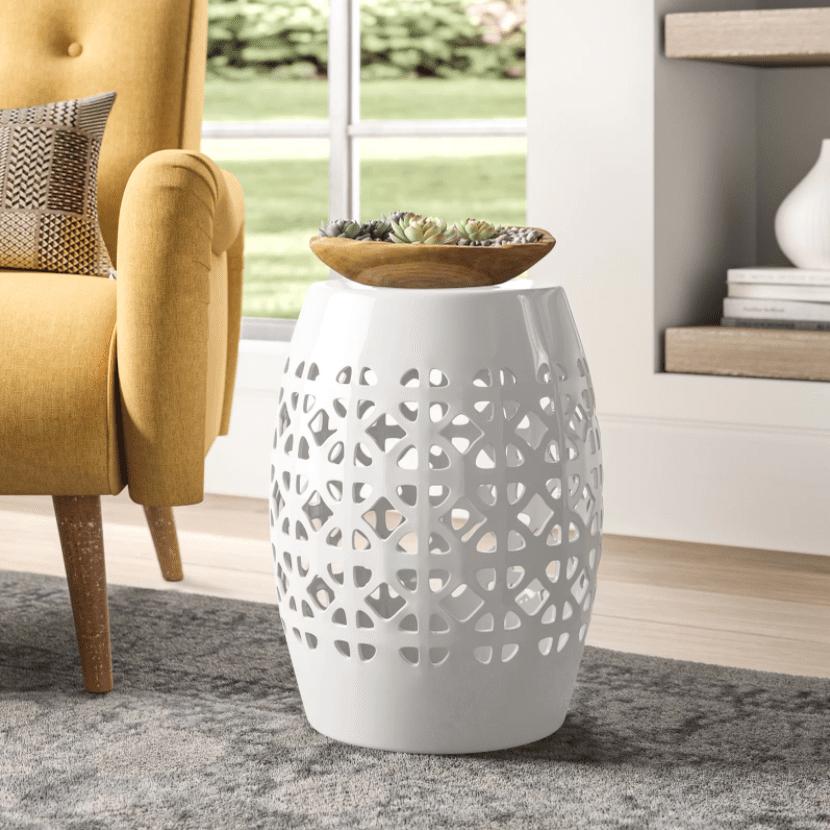 Mistana Dreyer Ceramic Garden Stool