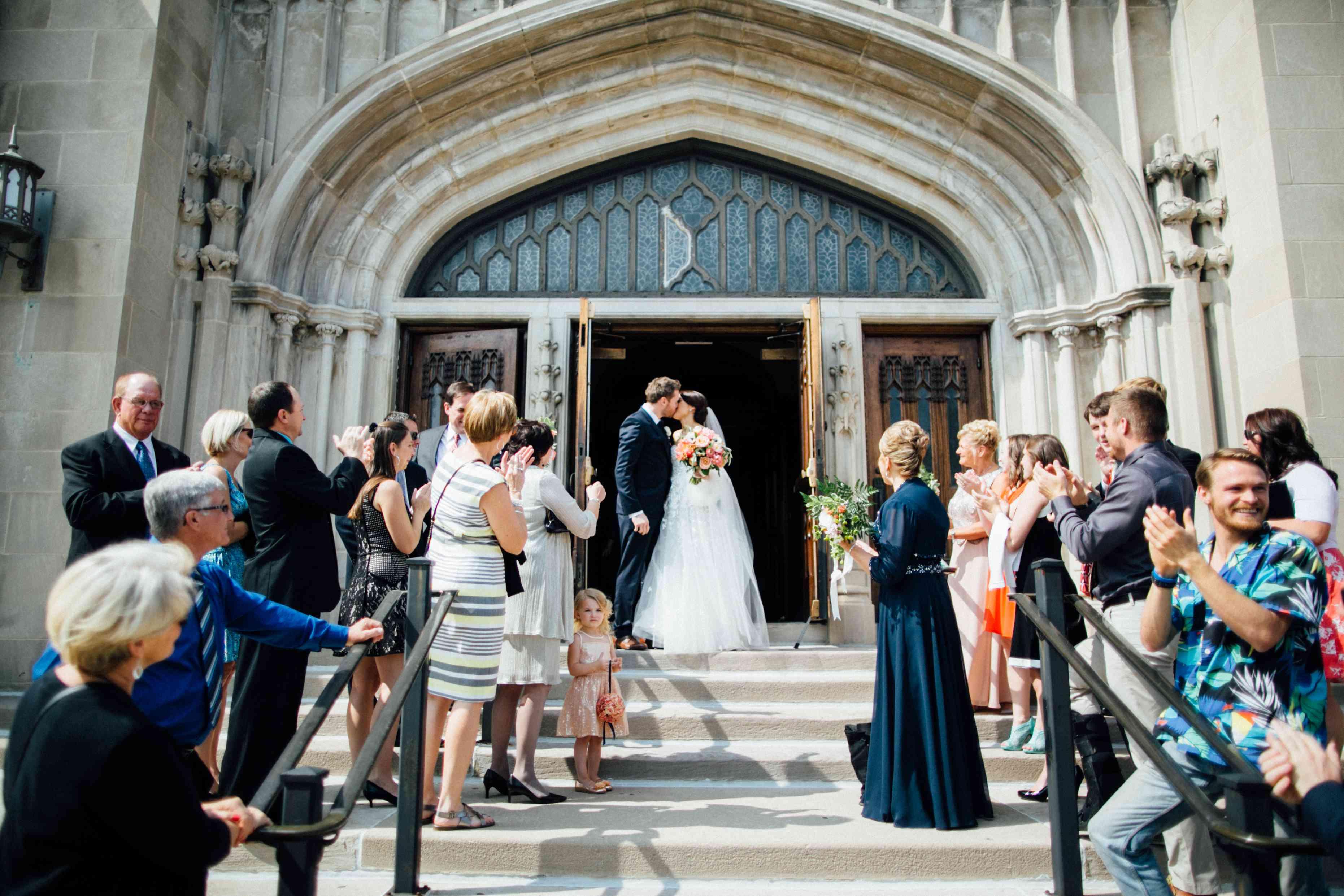 <p>Wedding Exit</p><br><br>