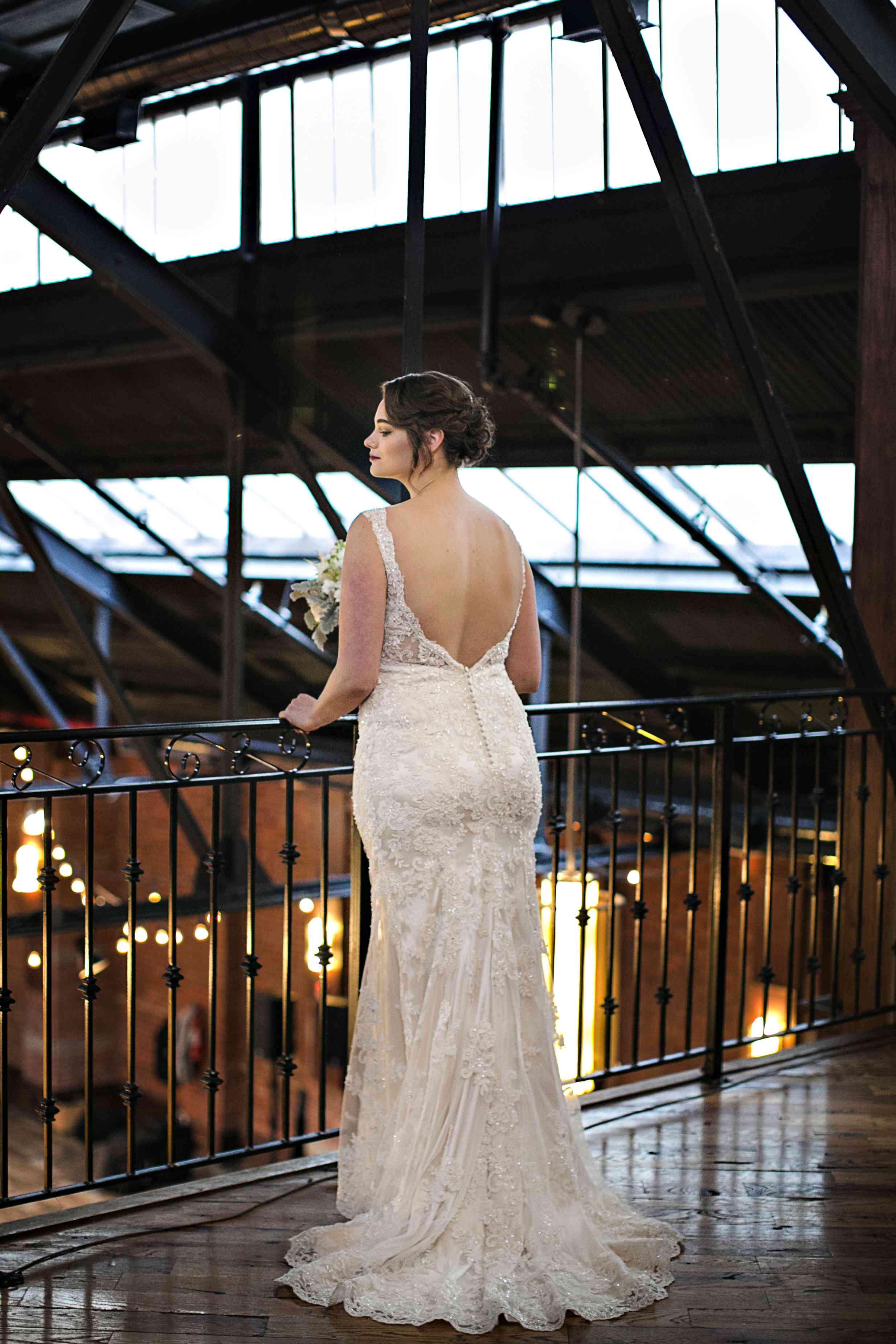 Jennie Runk at her wedding