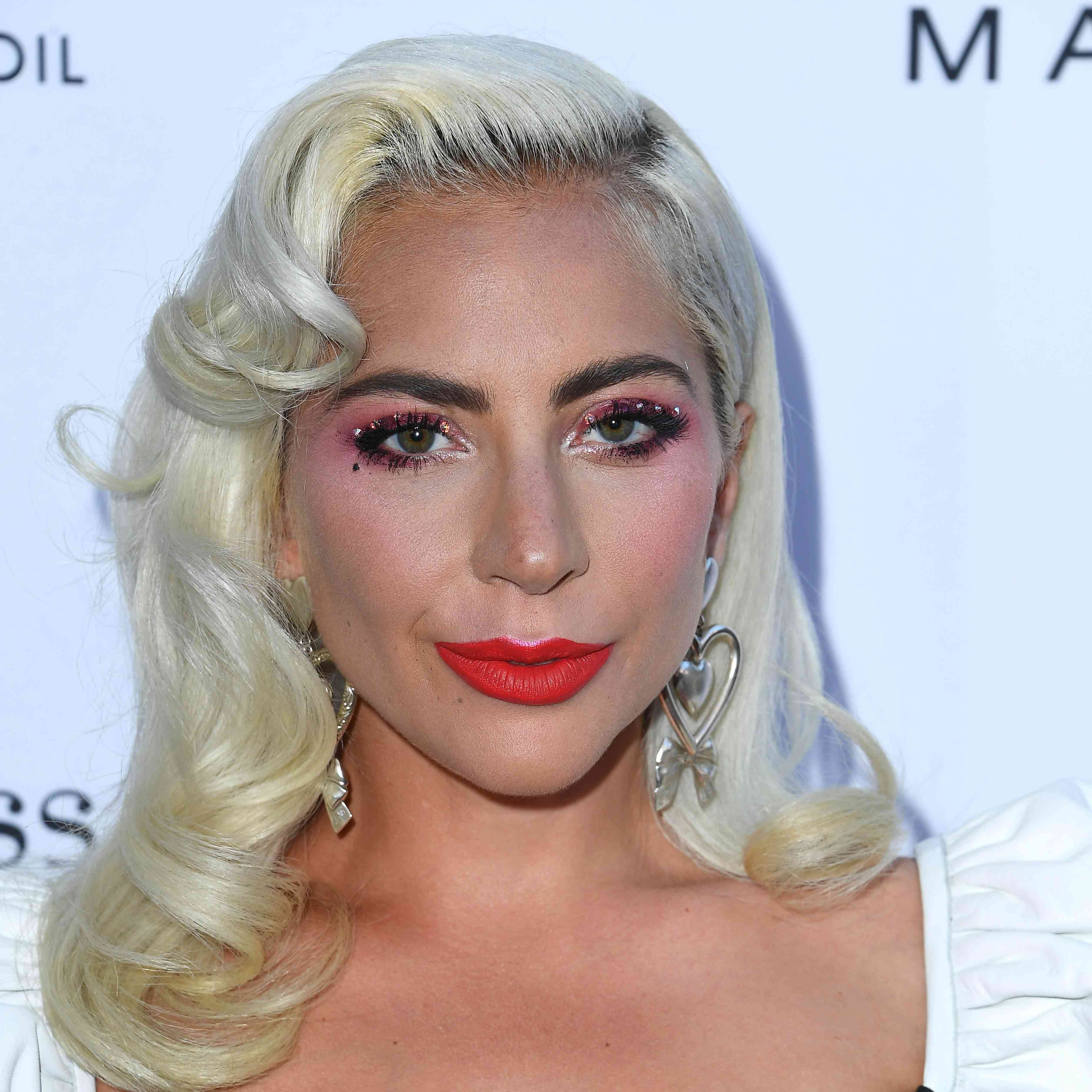 Lady Gaga Was A Bridesmaid In Her Makeup Artist's Wedding