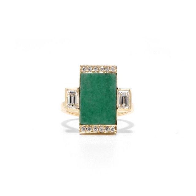 Ashley Zhang Jade Ring