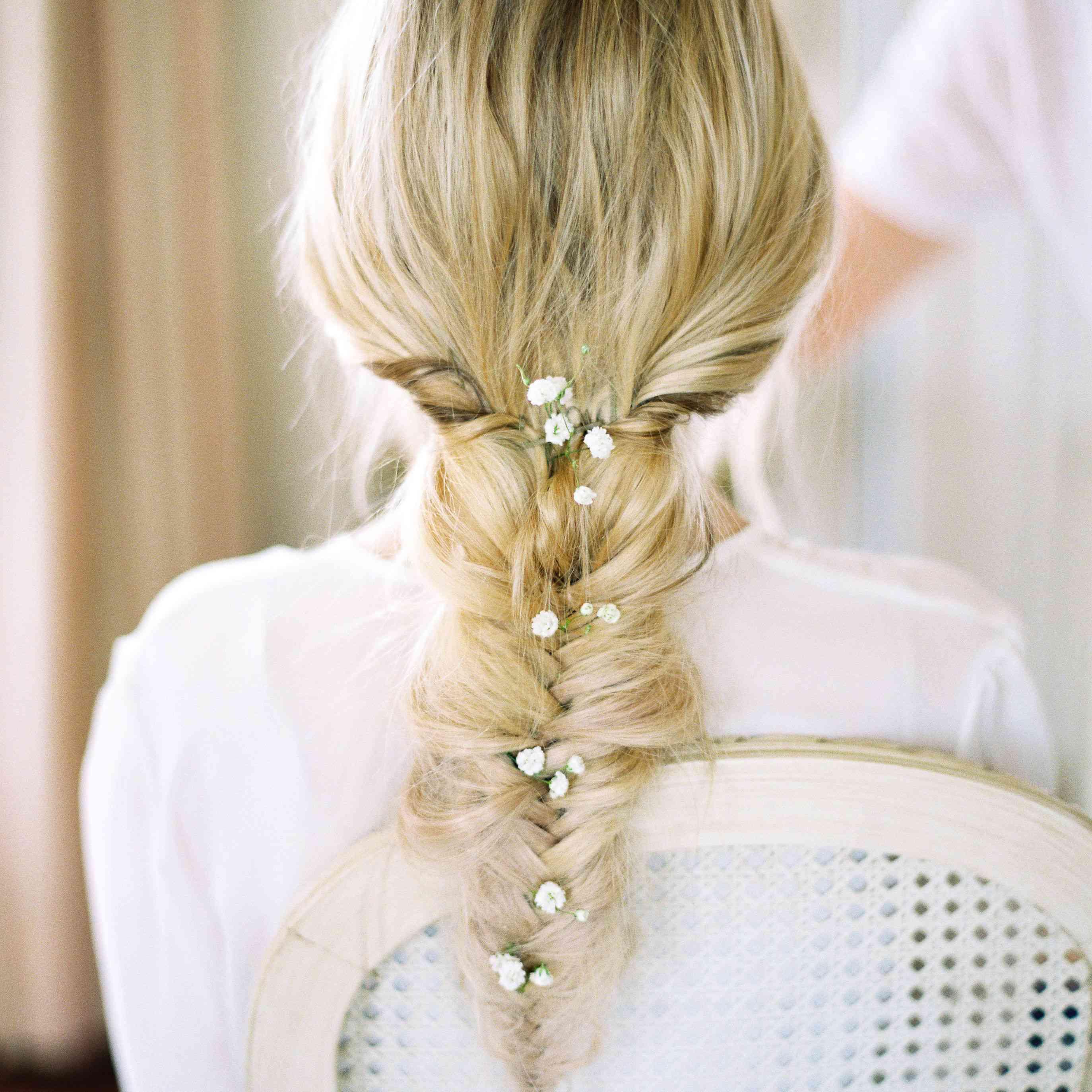 Bridal fishtail