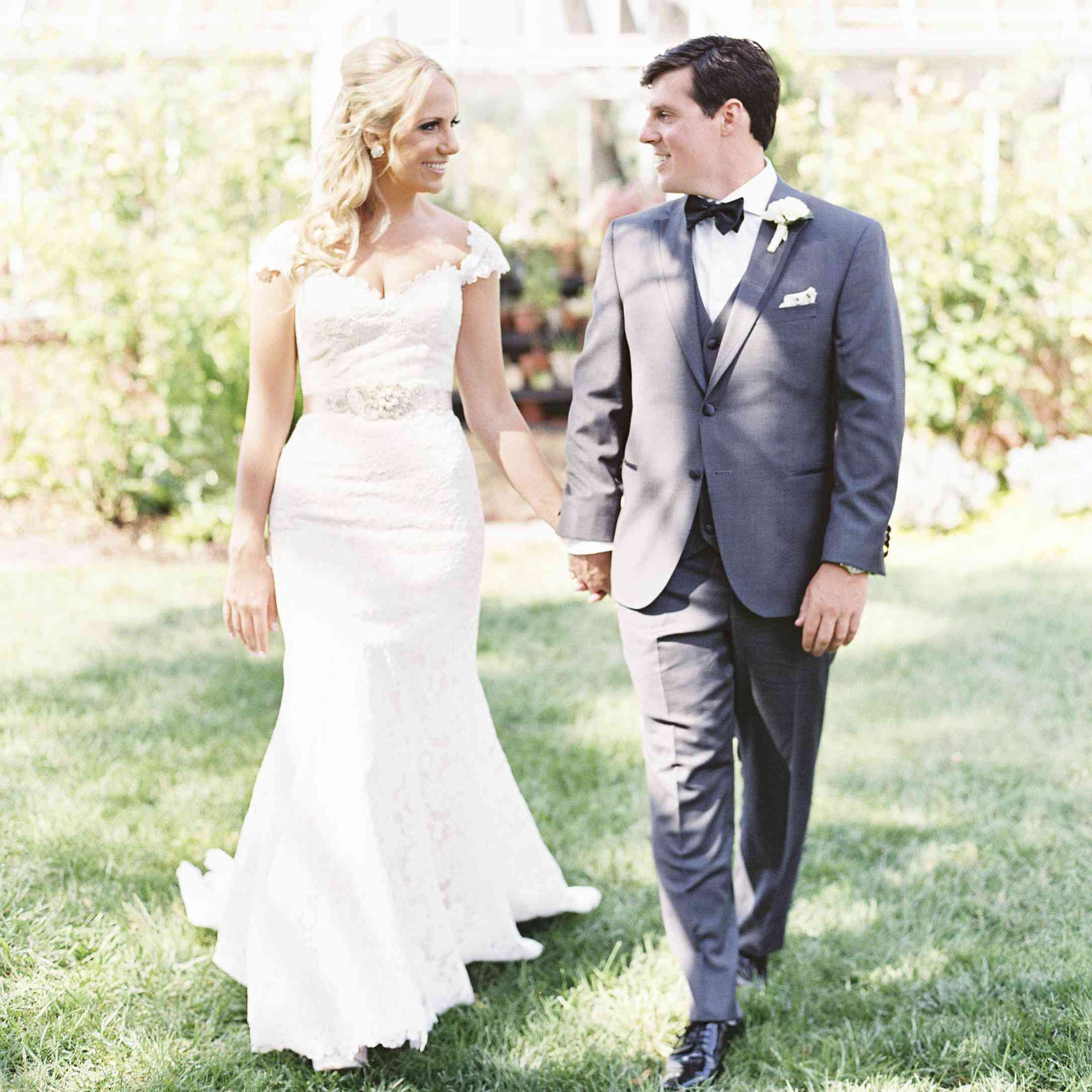 This Romantic Garden Wedding Took Place At The Maryland