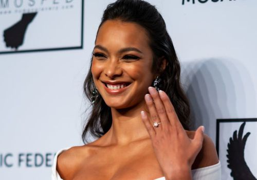 Lais Ribeiro attends the Mosaic Federation Gala Against Human Slavery at Cipriani 42nd Street.
