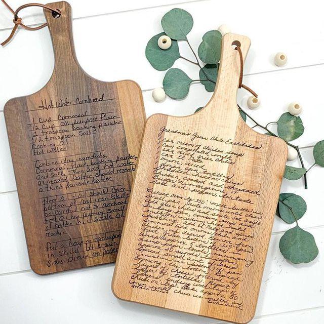 Morning Joy Co Recipe Cutting Board