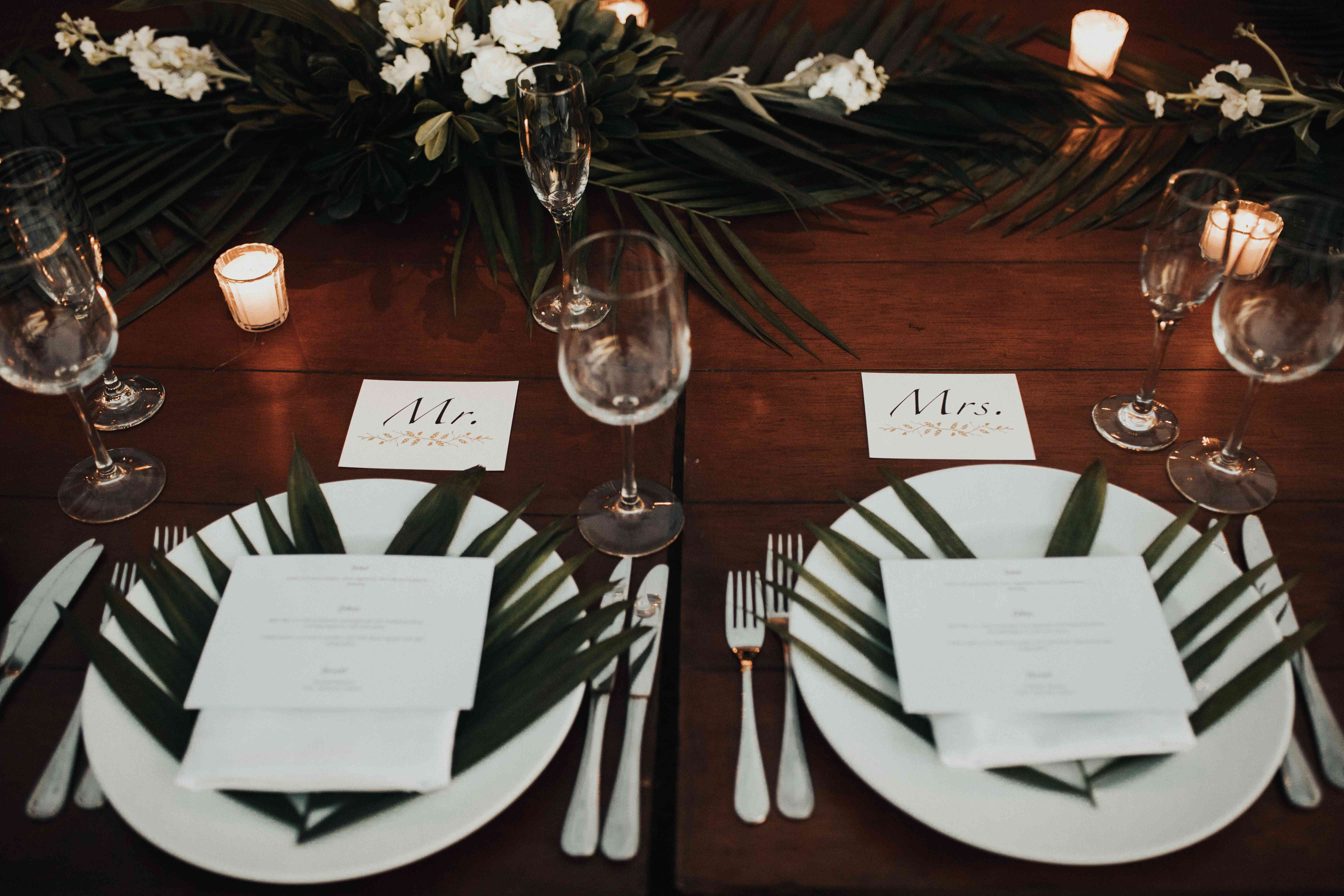 <p>Place settings</p><br><br>