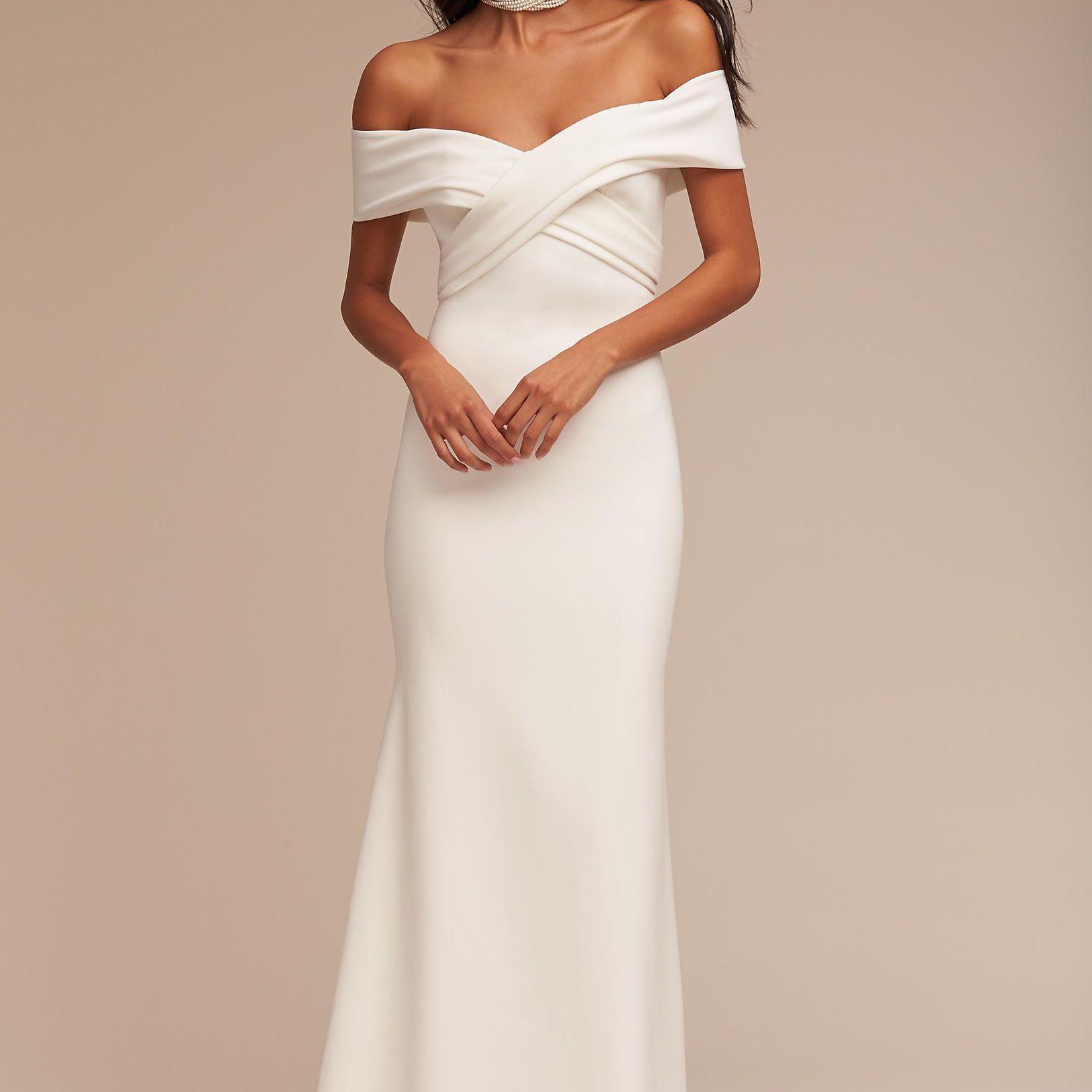50 Trendy Off-the-Shoulder Wedding Dresses