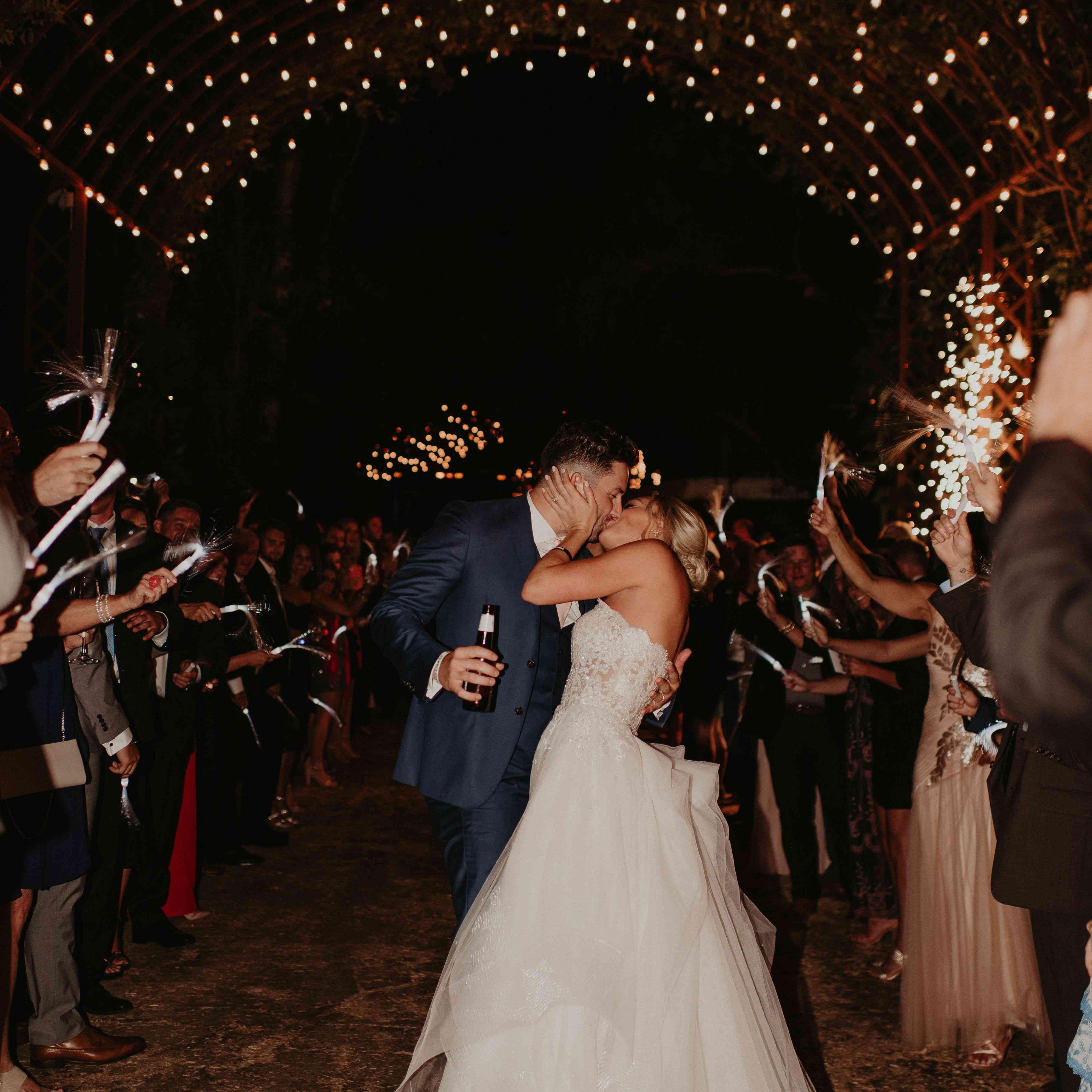 Baker Mayfield Wedding, exit