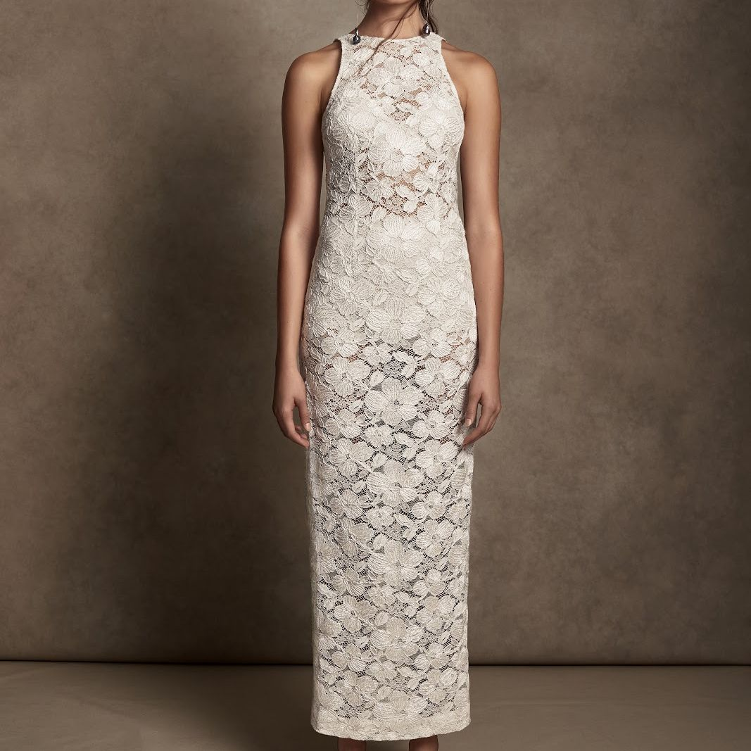lace wedding. dress