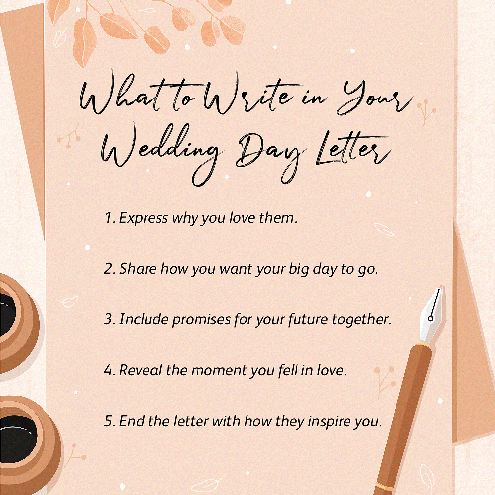 Romantic Ways To End A Letter from www.brides.com