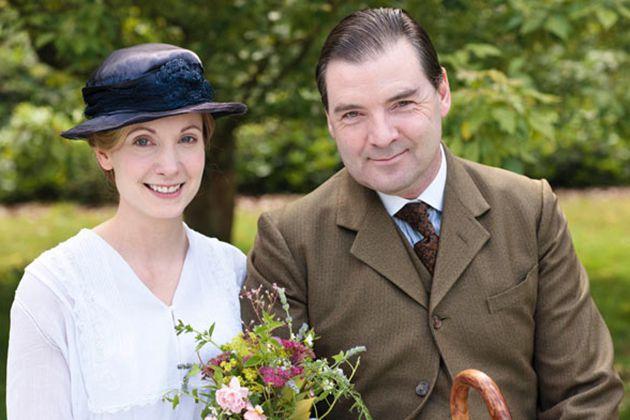 downton abbey weddings anna