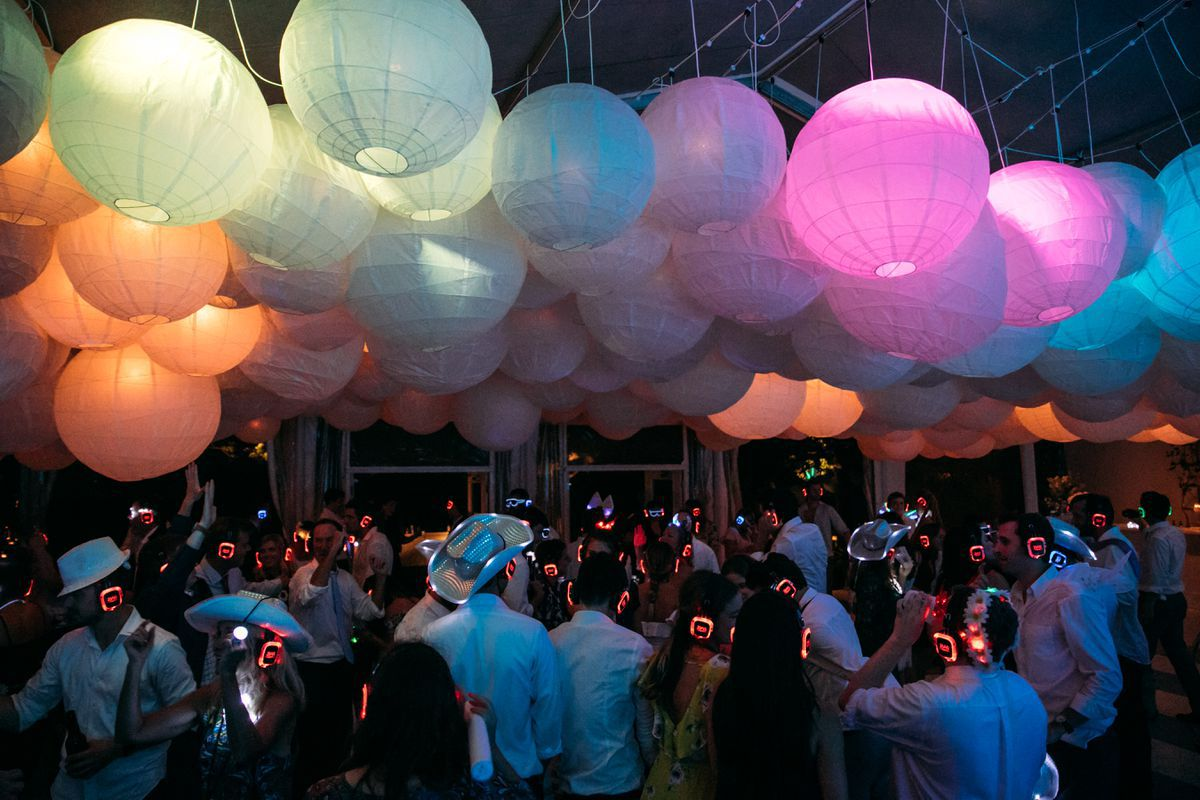 wedding entertainment silent disco