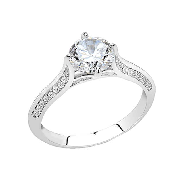 Blue Steel Simply Yours Ring