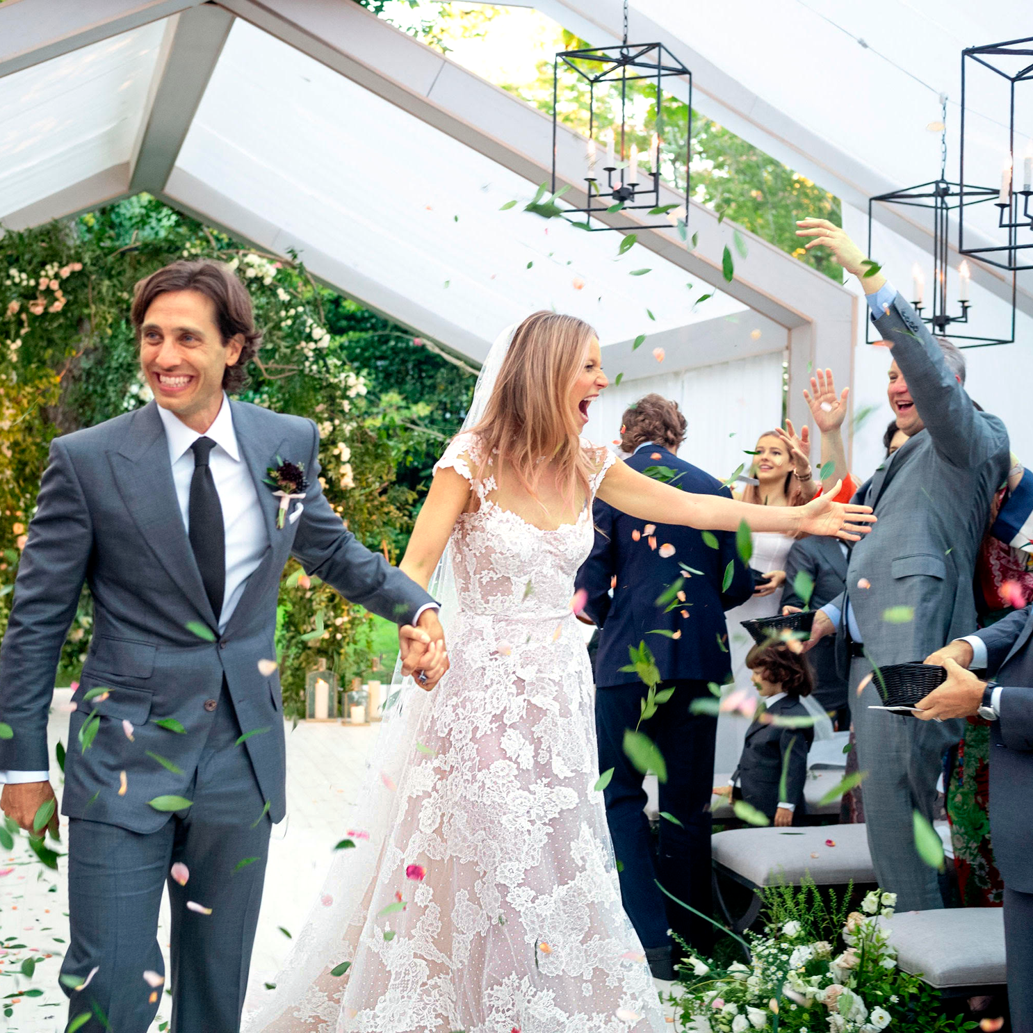 Gwyneth Paltrow's Husband Brad Falchuk Referenced Shakespeare in Love During His Wedding Vows