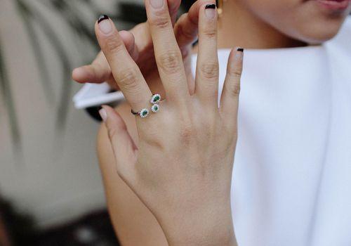 Engagement mani