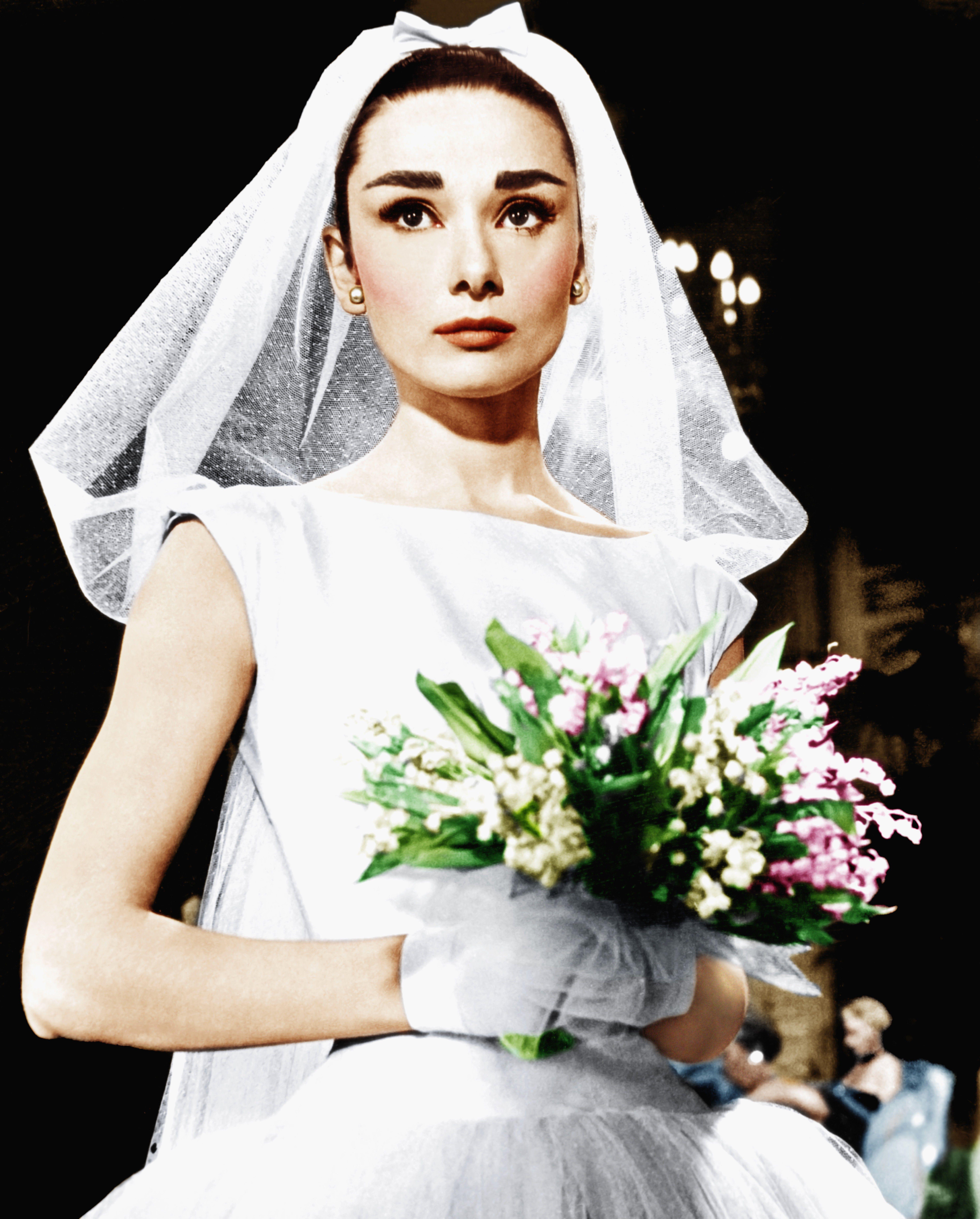 Tbt Audrey Hepburn S 3 Wedding Dresses,Flowy Dresses For Wedding Guest