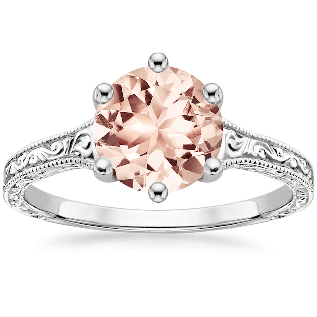 Brilliant Earth Morganite Hudson Ring