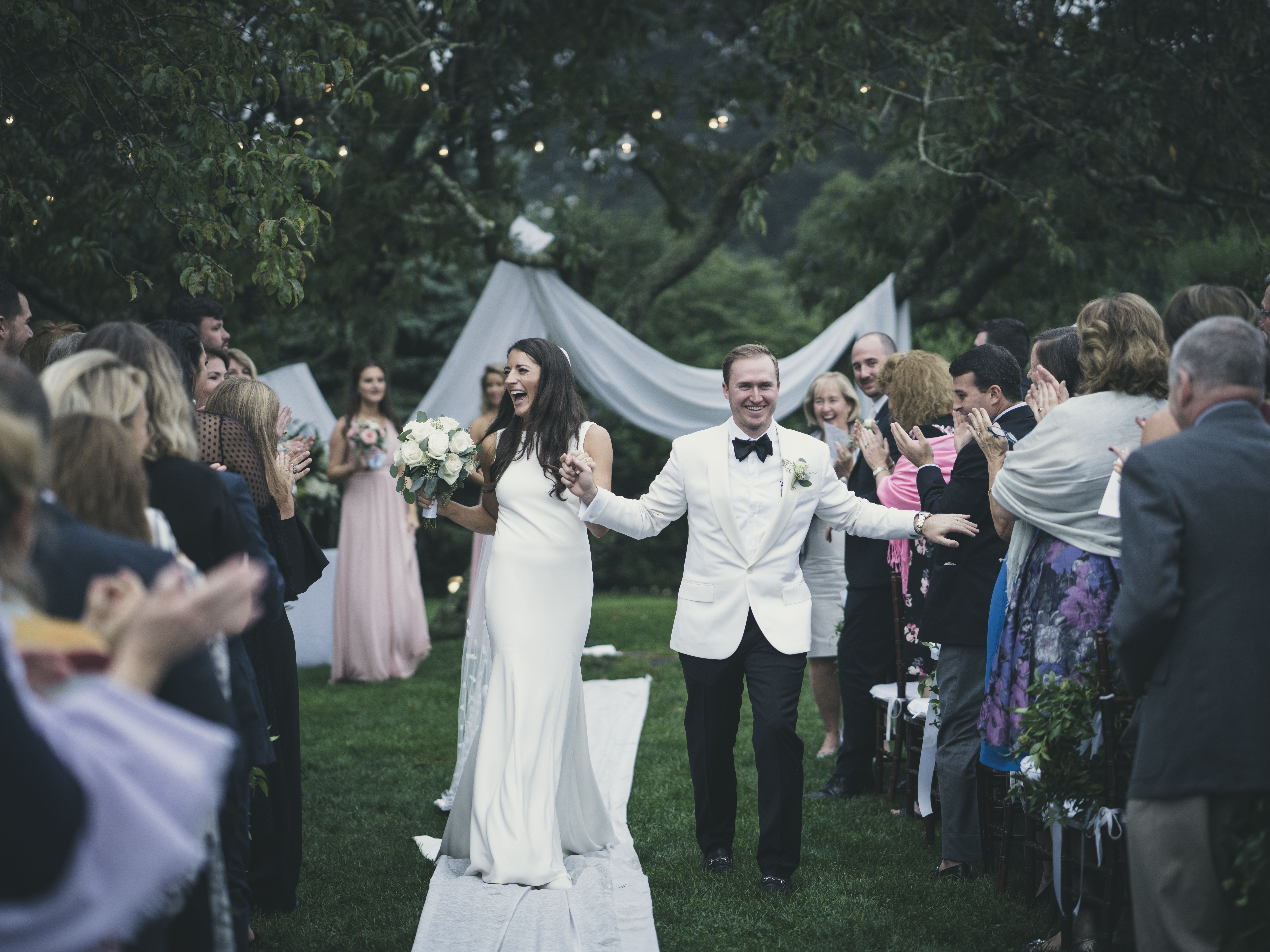 A Black-Tie Fall Wedding at Sole East in Montauk
